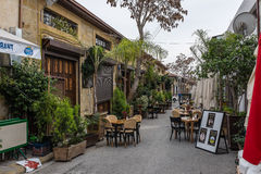 Street in Nicosia, Northern Cyprus Stock Photography