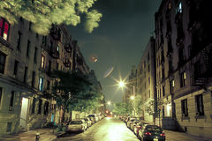 Street at night Stock Images