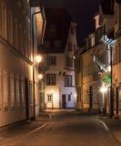 Street at night Royalty Free Stock Photo