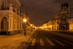 Street night Kazan Stock Images