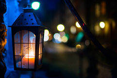 Street night light Stock Photography