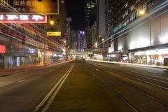 Street night sight Stock Photos