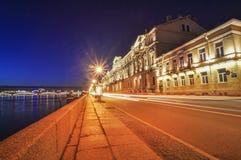 Street at night Stock Photography