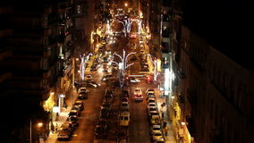 Street Night Time Lapse II Royalty Free Stock Photo