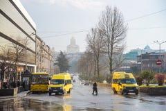 Street Nikoloz Baratashvili royalty free stock images
