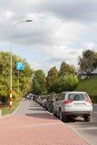 Street of the Nizhny Novgorod city, Russia Royalty Free Stock Photography