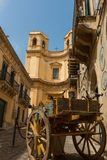 Street noto sicily Royalty Free Stock Photos