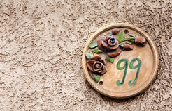 Street number Stock Photography