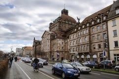 Street in nuremberg Royalty Free Stock Photos