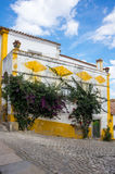 Street of Obidos Stock Images