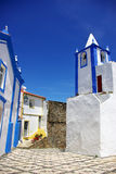 Street Of Alegrete Village, Portugal. Royalty Free Stock Images