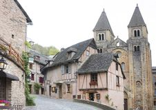 Free Street Of Conques Royalty Free Stock Photo - 108207715