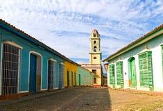 Street Of Trinidad Stock Image