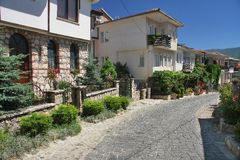 Street in Ohrid Stock Images