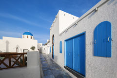 Street in Oia Royalty Free Stock Photo