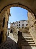 Street old-Alhama de Granada Stock Photography