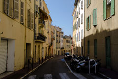 Street of old Cannes, Stock Photos
