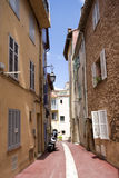 The street of old Cannes, French Riviera Royalty Free Stock Image