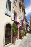 The street of old Cannes, French Riviera Stock Photos