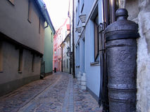 Street of old city. Royalty Free Stock Photos