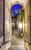 Street in old city, Geneva, Switzerland Royalty Free Stock Photos