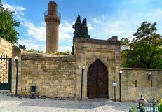 Street in Old city, Icheri Shehe. Baku Stock Image