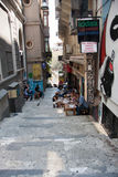 Street in the old city of Istanbul. Turkey. Royalty Free Stock Photography