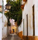 Street in old city. Jerez de la Frontera Stock Images