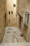 A street in the old city jerus stock photos