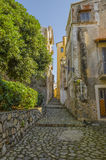 Street of the old city Royalty Free Stock Image