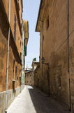 Street in the old city of Palma de Majorca Royalty Free Stock Image