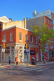Street in the Old City of Philadelphia PA Royalty Free Stock Image