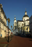 On the street of the old city Vitebsk, Belarus Royalty Free Stock Photography