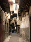 Street in old Damascus. Syria Royalty Free Stock Images