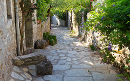 Street in Old Datca Stock Photography