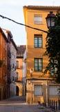 Street in old european city. Logrono Stock Photo