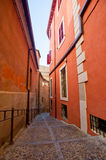 Street of old european city Stock Photography