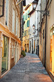 Street in old historic town Royalty Free Stock Images