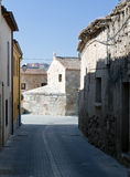 Street of old houses Royalty Free Stock Photography