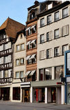 Street with old houses in Strasbourg, France Stock Image