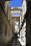 Street in Old Jerusalem, Israel. Royalty Free Stock Image