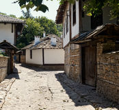 Street in old Lovech Royalty Free Stock Photo