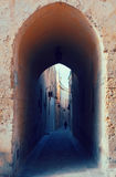Street in  old mediterranean town Royalty Free Stock Photo