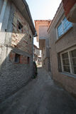 A street in the old part of the Bulgarian town of Sozopol Royalty Free Stock Images