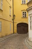 Street of old Prague Royalty Free Stock Photography