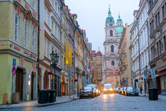 Street in Old Prague Royalty Free Stock Photography