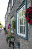 A street in old quebec Stock Photos