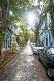 Street in old San Juan. Puerto Rico stock images