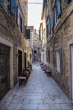 Street of old Split Royalty Free Stock Image