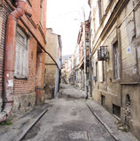 Street of Old Tbilisi Stock Image